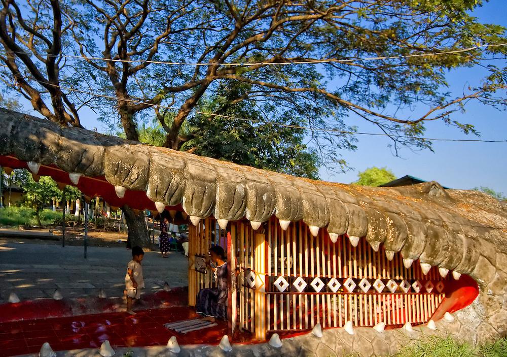 Maelamu Pagoda, Yangon, Myanmar.