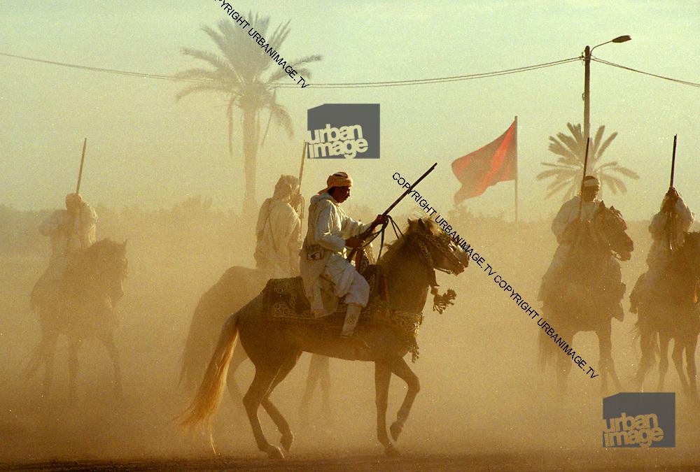 Marrakesh Fantasia Horsemen - Morocco