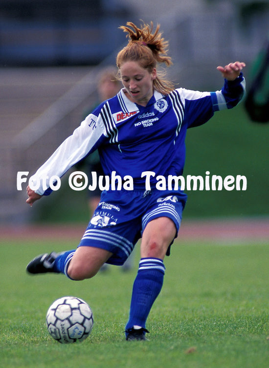 20.07.1996.Christina Forssell - HJK Helsinki.©Juha Tamminen