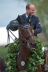 Michael Jung (GER) - Leopin FST winners of the 2012 Luhmühlen <br /> Jumping - CCI4* Luhmühlen 2012<br /> © Hippo Foto - Jon Stroud