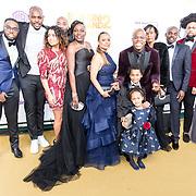 NLD/Amsterdam/20181209 - Premiere  Bon Bini Holland 2, Jandino Asporaat met zijn familie