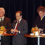 Lijsttrekkersdebat Ouderen, Kars Veling, Ad Melkert en Thom de Graaf