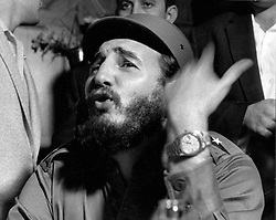 November 26, 2016 - Cuban Politician and Revolutionary FIDEL CASTRO has died at the age of 90, Cuban state television announced on Saturday, ending an era for the country and Latin America. Pictured: May 03, 2006; Havana, Cuba; (File Photo: Exact Place and Date Unknown) Fidel Alejandro Castro Ruiz (born August 13, 1926) has been the ruler of Cuba since 1959, when, leading the 26th of July Movement, he overthrew the regime of Fulgencio Batista. In the years that followed he oversaw the transformation of Cuba into the first Communist state in the Western Hemisphere.  (Credit Image: © KPA/ZUMA Press)