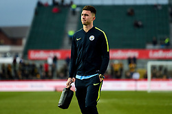 Phil Foden of Manchester City arrives at Rodney Parade prior to kick off - Mandatory by-line: Ryan Hiscott/JMP - 16/02/2019 - FOOTBALL - Rodney Parade - Newport, Wales - Newport County v Manchester City - Emirates FA Cup fifth round proper