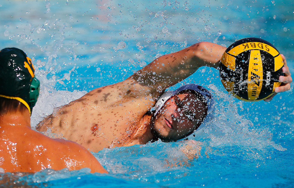 11/4/16 1:32:18 PM- OEC Championships for Men's Water Polo in the match between Saddleback College and Golden West College in Mission Viejo, CA<br /> <br /> Photo by Chris M. Leung/Sports Shooter Academy