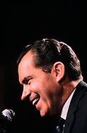 A portrait of Richard Nixon that was on the cover of NEWSWEEK for their  election issue on November 6, 1968.<br />Photo by Dennis Brack