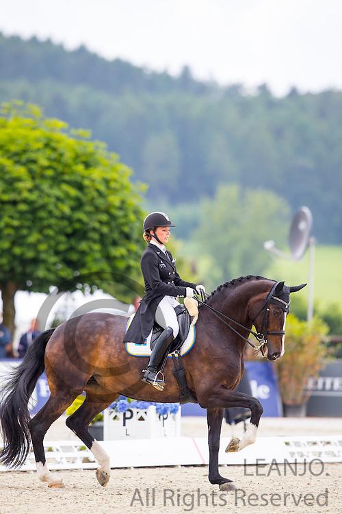 Mathilde Hannell - Deela Mae<br /> European Championships Dressage U25 2016<br /> &copy; DigiShots