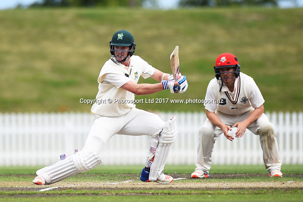 Stags player Adam Milne during Day 3 of their Plunket Shield match Central Stags v Canterbury. Saxton Oval, Nelson, New Zealand. Thursday 23 March 2017. ©Copyright Photo: Chris Symes / www.photosport.nz