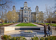 Syracuse University in April
