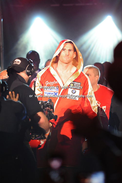 David Price enters the ring leading up to his fights against Tony Thompson at the Echo Arena, Liverpool on 6th July 2013. Credit: © Leigh Dawney Photography. Self Billing where applicable. Tel: 07812 790920