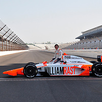 Dan Wheldon after he came first at Indycar May 2011 - Indianapolis