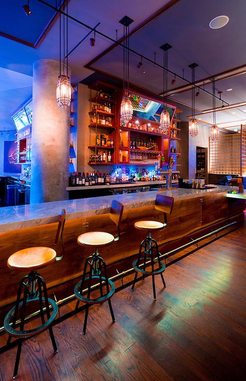 Bar at Toro Toro at the Miami InterContinental Hotel