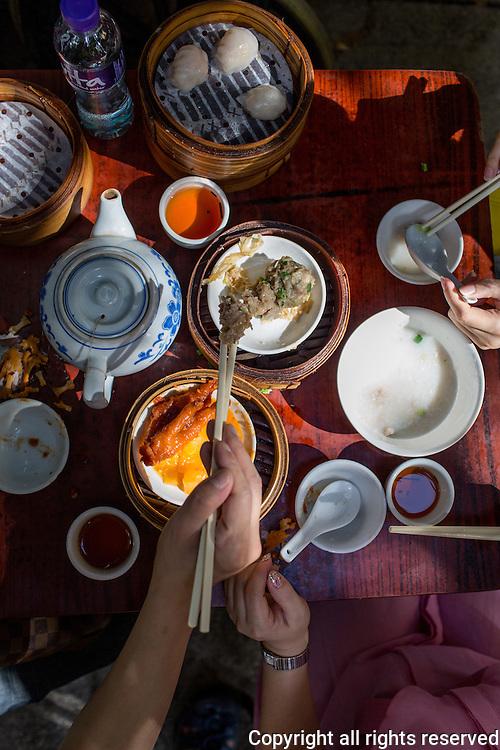 Dim sum, Sai Ying Pun, Hong Kong