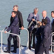 Manuel Walls - Premier Ministre et Jean-françois Fountaine
