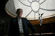 Belo Horizonte_MG, Brasil. ..Retrato de Rinaldo Soares, presidente da Usiminas e da Cosipa...Rinaldo Soares portrait, He is president of Usiminas and Cosipa...Foto: LEO DRUMOND / NITRO