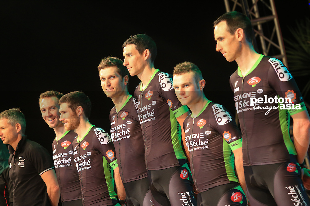 Le Tour De Langkawi 2015/Team Presentation/Betagne-Seche Environement