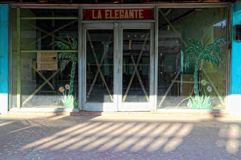 Shop in Jaruco, Mayabeque, Cuba.