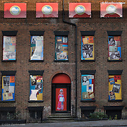 A row of terraced houses in Duke Street has formed the backdrop to a unique piece of public art reflecting an important part of the city&rsquo;s history.<br /> Giant photographs which tell the story of Chinese sailors and their families have been installed on the houses which are next door to the Wah Sing Chinese School.<br /> The buildings, next to Iliad&rsquo;s development East Village at the top of Duke Street have been derelict for many years but the properties have now been given a new lease of life.<br /> The artwork &ldquo; Opera for Chinatown&rdquo; &ndash; has been created as part of a year-long project to create a digital archive of oral histories and family photographs of the Chinese community by artists and oral historians John Campbell and Moira Kenny also known as The Sound Agents.
