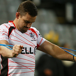 DURBAN, SOUTH AFRICA, 9,JULY, 2016 Keegan Daniel of the Cell C Sharks during The Cell C Sharks vs Toyota Cheetahs  Super Rugby Match at Growthpoint Kings Park in Durban, South Africa. (Photo by Steve Haag)<br /> <br /> images for social media must have consent from Steve Haag