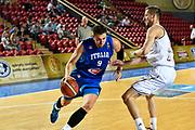 DESCRIZIONE : Tbilisi Nazionale Italia Uomini Tbilisi City Hall Cup Italia Italy Lettonia Latvia<br /> GIOCATORE : Andrea Bargnani<br /> CATEGORIA : palleggio penetrazione sequenza<br /> SQUADRA : Italia Italy<br /> EVENTO : Tbilisi City Hall Cup<br /> GARA : Italia Lettonia Italy Latvia<br /> DATA : 14/08/2015<br /> SPORT : Pallacanestro<br /> AUTORE : Agenzia Ciamillo-Castoria/GiulioCiamillo<br /> Galleria : FIP Nazionali 2015<br /> Fotonotizia : Tbilisi Nazionale Italia Uomini Tbilisi City Hall Cup Italia Italy Lettonia Latvia