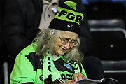 FGR supporter during the EFL Sky Bet League 2 match between Forest Green Rovers and Colchester United at the New Lawn, Forest Green, United Kingdom on 27 November 2018.