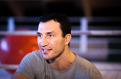 16.04.2013, Stanglwirt, Going, AUT, Wladimir Klitschko, im Portrait, im Bild Schwergewichts Champion Wladimir Klitschko waehrend eines Interviews // Heavyweight champion Wladimir Klitschko during a  Interview at the Hotel Stanglwirt, Going, Austria on 2013/04/16. EXPA Pictures © 2013, PhotoCredit: EXPA/ Juergen Feichter