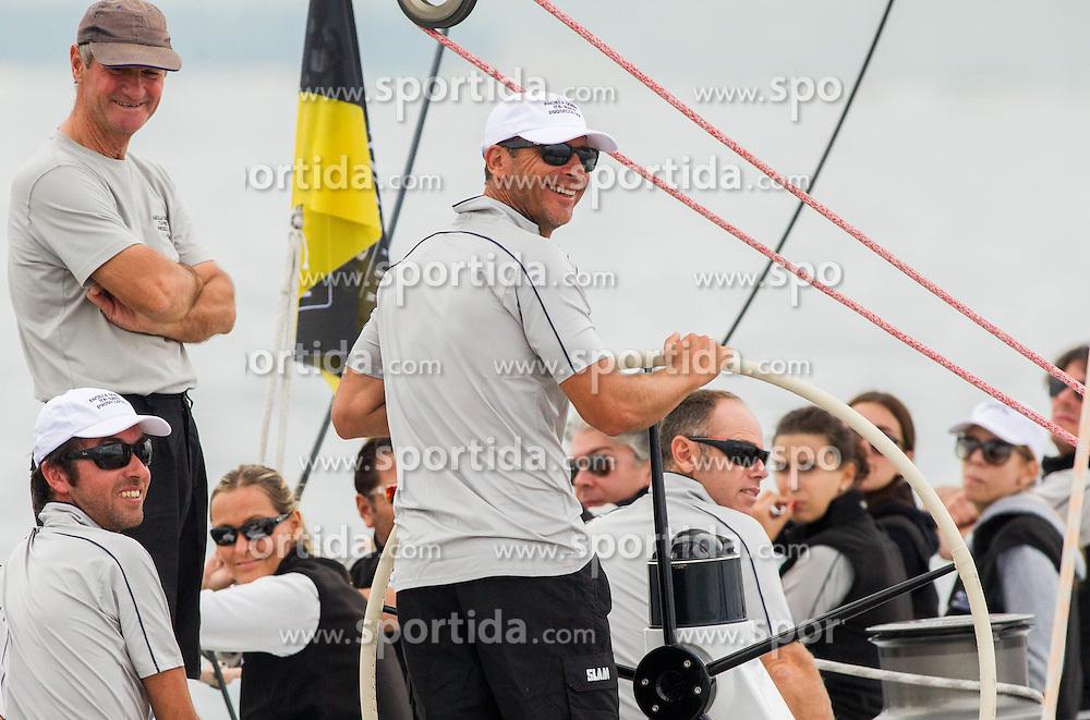 Mauro Pelaschier of Ancilla Domini during the North Adriatic regatta Barcolana 2014, on October 12, 2014 in Gulf of Trieste, Italy. Photo by Vid Ponikvar / Sportida.com