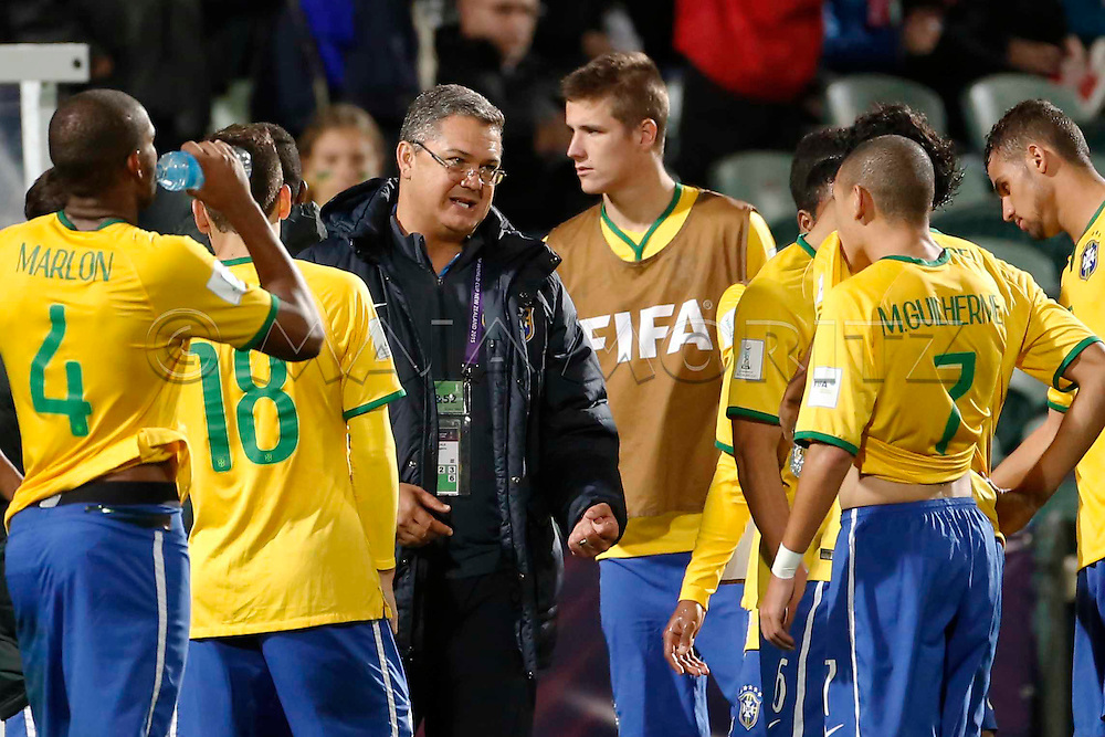 FIFA U20 World Cup New Zealand 2015, 20 June 2015, Auckland, Brazil - Serbia, 1:2, Final, coach Rogerio MICALE (BRA)