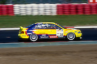 #18 Christian Abt (DUE), Abt Sportsline, Audi A4 Quattro during the STW race at Nürburgring, Nürburg, Rhineland-Palatinate, Germany. April 25 1997. World Copyright Peter Taylor. Copy of publication required for printed pictures.  Every used picture is fee-liable. http://archive.petertaylor-photographic.co.uk