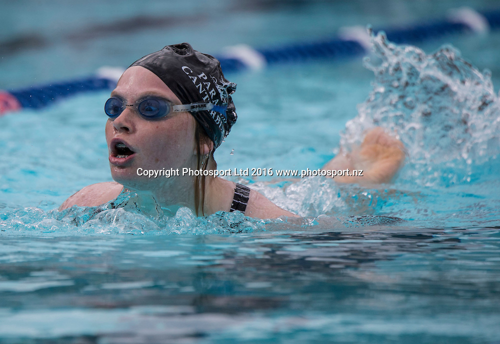Swimming, Day 1, Halberg Junior Disability Games, St Peter's School, Cambridge, New Zealand. Friday, 22 April, 2016. Copyright photo: John Cowpland / www.photosport.nz
