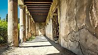Herculanum (en latin Herculaneum, en italien Resina puis Ercolano depuis 1969) fut detruite par l'&eacute;ruption du Vesuve en l'an 79 apr.&nbsp;J.-C., Conservee pendant des siecles dans une gangue volcanique elle fut  remise au jour a partir du xviiie&nbsp;si&egrave;cle par les Bourbons qui regnaient sur Naples.<br /> La cite &eacute;tait petite avec une superficie de 12 hectares, dont environ 4,5 ha ont ete degages, et une population estimee a quatre mille habitants.<br /> La cite nouvelle etant construite sur les ruines, il est peu probable d&rsquo;en voir un jour tous ses tresors.<br /> Dans des sortes de niches, sous les terrasses des villas du bord de mer, le professeur Maggi retrouve 260 squelettes. Il s'agit essentiellement d'enfants, de femmes et de personnes &acirc;g&eacute;es. Autant d'habitants qui s'&eacute;taient r&eacute;fugi&eacute;s l&agrave;, esp&eacute;rant gagner le large. <br /> En vain. <br /> Ce jour-l&agrave;, un raz de mar&eacute;e accompagna l'&eacute;ruption.