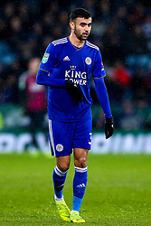 Rachid Ghezzal of Leicester City - Mandatory by-line: Robbie Stephenson/JMP - 18/12/2018 - FOOTBALL - King Power Stadium - Leicester, England - Leicester City v Manchester City - Carabao Cup Quarter Finals