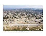 11/08/05: Massive destruction at the Ninth Ward breach.