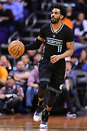 Jan 30, 2017; Phoenix, AZ, USA; Memphis Grizzlies guard Mike Conley (11) dribbles the ball up the court against the Phoenix Suns in the first half of the NBA game at Talking Stick Resort Arena. The Memphis Grizzlies won 115-96. Mandatory Credit: Jennifer Stewart-USA TODAY Sports