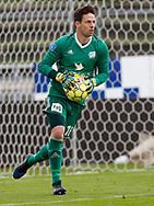 FODBOLD: Andreas Larsen (Lyngby BK) under kampen i Reserveligaen mellem Lyngby Boldklub og FC Helsingør den 11. september 2017 på Lyngby Stadion. Foto: Claus Birch