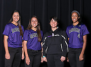 Cedar Ridge:  Breanna Hernandez, Christiana McDowell, Coach Jessica Poole, Heaven Burton.  (LOURDES M SHOAF for Round Rock Leader.)
