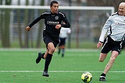 05-01-2020 NED: vv Maarssen 1 - Oud vv Maarssen, Maarssen<br /> Voorafgaand aan de Nieuwjaarsreceptie is er een speciale wedstrijd tussen de huidige mannenselectie en een speciaal samengesteld team Oud-VV Maarssen.
