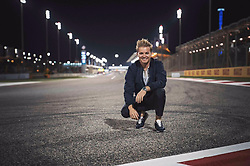 "Nico Rosberg releases a photo on Twitter with the following caption: """"Some good memories are coming back!! 🇧🇭<br /> Find my quali analysis on my YouTube<br /> 👉🏻 https://t.co/omX8f4ATM9"""". Photo Credit: Twitter *** No USA Distribution *** For Editorial Use Only *** Not to be Published in Books or Photo Books ***  Please note: Fees charged by the agency are for the agency's services only, and do not, nor are they intended to, convey to the user any ownership of Copyright or License in the material. The agency does not claim any ownership including but not limited to Copyright or License in the attached material. By publishing this material you expressly agree to indemnify and to hold the agency and its directors, shareholders and employees harmless from any loss, claims, damages, demands, expenses (including legal fees), or any causes of action or allegation against the agency arising out of or connected in any way with publication of the material."