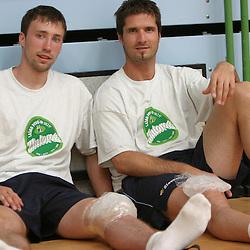 20040715: SLO, Handball - Priprave slovenske rokometne reprezentance v Zrecah