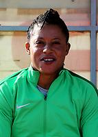 International Women's Friendly Matchs 2019 / <br /> Womens's Cyprus Cup Tournament 2019 - <br /> Nigeria v Thailand 3-0 ( Tasos Marko Stadium - Paralimni,Cyprus ) - <br /> Tochukwu Oluehi of Nigeria