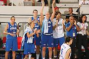 DESCRIZIONE : Ortona Italy Italia Eurobasket Women 2007 Serbia Italia Serbia Italy <br /> GIOCATORE : Kathrin Ress Team Italia Team Italy SQUADRA : Nazionale Italia Donne Femminile EVENTO : Eurobasket Women 2007 Campionati Europei Donne 2007 <br /> GARA : Serbia Italia Serbia Italy <br /> DATA : 01/10/2007 <br /> CATEGORIA : Esultanza <br /> SPORT : Pallacanestro <br /> AUTORE : Agenzia Ciamillo-Castoria/S.Silvestri Galleria : Eurobasket Women 2007 <br /> Fotonotizia : Ortona Italy Italia Eurobasket Women 2007 Serbia Italia Serbia Italy <br /> Predefinita :