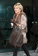 28.JANUARY.2013. LONDON<br /> <br /> ANTHEA TURNER LEAVING THE LWT STUDIO IN LONDON.<br /> <br /> BYLINE: EDBIMAGEARCHIVE.CO.UK<br /> <br /> *THIS IMAGE IS STRICTLY FOR UK NEWSPAPERS AND MAGAZINES ONLY*<br /> *FOR WORLD WIDE SALES AND WEB USE PLEASE CONTACT EDBIMAGEARCHIVE - 0208 954 5968*