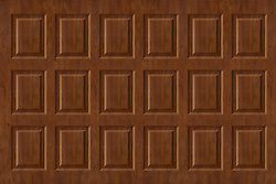 Raised walnut wall paneling texture