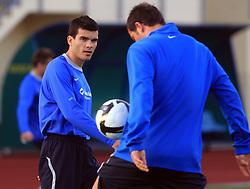 Aleksander Radosavljevic at practice of Slovenian men National team, on October 13, 2008, in Domzale, Slovenia.  (Photo by Vid Ponikvar / Sportal Images)