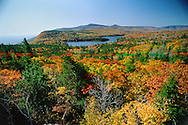 Catskill Park, North And South Lakes from Sunset Point, New York, Hudson River Valley,