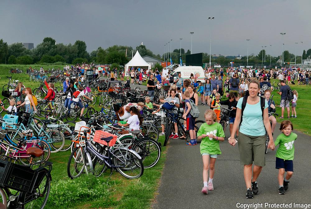 May 30, 2018 - 18:18<br /> The Netherlands, Amsterdam - Afgelaste Avondvierdaagse