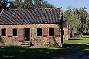 Former slave quarters at Boone Hall Plantation in Mt. Pleasant, SC, just outside Charleston. Boone Hall is also one of America's oldest working, living plantations. continuously growing and producing crops for over 320 years.