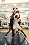Findlay Prep defeats Oak Hill in the final game of the ESPN Rise High School Invitational Tournament April 05, 2009 in Bethesda, MD.