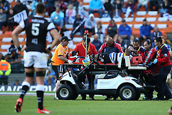 A distraught Western Province leaves the field after being injured during the Currie Cup Premier Division match between the DHL Western Province and the Sharks held at the DHL Newlands Rugby Stadium in Cape Town, South Africa on the 3rd September  2016<br /> <br /> Photo by: Shaun Roy / RealTime Images
