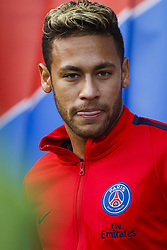 September 30, 2017 - Paris, France - Paris Saint-Germain's Brazilian forward Neymar looks on before the French L1 football match between Paris Saint-Germain and Bordeaux at the Parc des Princes stadium in Paris on September 30, 2017. (Credit Image: © Geoffroy Van Der Hasselt/NurPhoto via ZUMA Press)